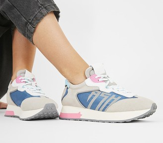 Ash Tiger Sneakers Grey Pink