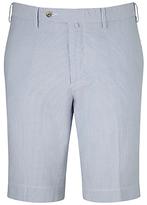 Hackett London Stripe Barre Shorts, Blue