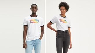 Levi's Pride Community Ringer Tee Shirt