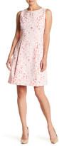 Eliza J Sleeveless A-Line Pleat Dress