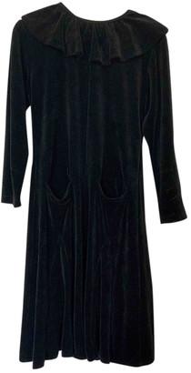 Pierre Cardin Black Velvet Dresses