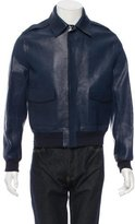 Louis Vuitton Pebbled Leather Jacket