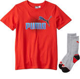 Puma 2Pc T-Shirt & Crew Sock Set
