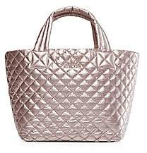 MZ Wallace Women's Small Metro Quilted Nylon Tote