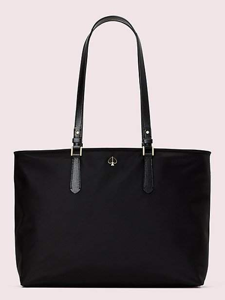 99d30b24 Black Shiny Tote Bag - ShopStyle
