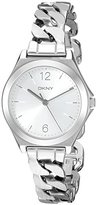 DKNY Women's NY2424 PARSONS Silver Watch