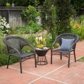Ophelia Diana 3 Piece Rattan Seating Group & Co.