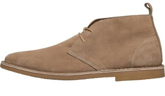 French Connection Mens Desert Boots Sand