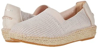 Cole Haan Cloudfeel Stitchlite Espadrille (Peach Blush/Sliver Genvive Mesh Sitch/Peach Blush Leather) Women's Shoes