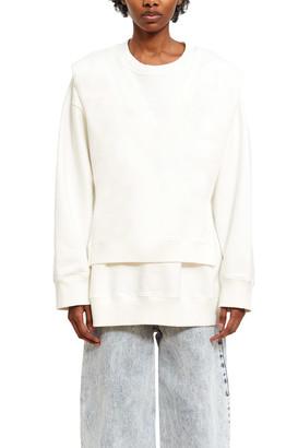 MM6 MAISON MARGIELA V-Neck Tiered Sweater