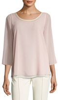 Plenty by Tracy Reese Layered Easy Top