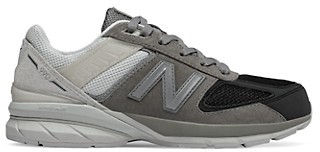 New Balance Kid's Leather Lace-Up Sneakers