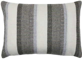 The Piper Collection Arthur 14x20 Lumbar Pillow - Gray/Taupe