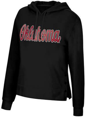 Top of the World Women Oklahoma Sooners Snap Hem Hooded Sweatshirt