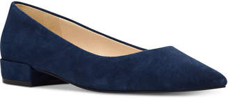 Nine West Fayth Almond-Toe Flats Women Shoes