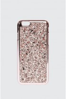 Select Fashion Fashion Womens Pink Rose Gold Glitter I Phone 6 Case - size One