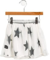 Nununu Girls' Tulle Star Print Skirt w/ Tags