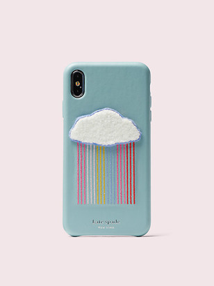 Kate Spade Rainbow Cloud Patch Iphone Xs Max Case