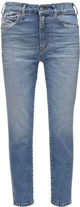 Diesel D-Joy Slim Washed Denim Jeans