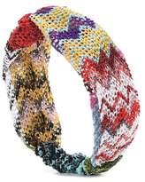 Missoni Mare Striped knitted headband