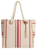 Vince Camuto Ulla Woven Tote - Red