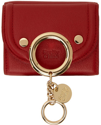 See by Chloe Red Small Mara Wallet