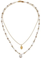 Chan Luu 17' Double Strand White Mix Necklace