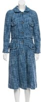 Marc Jacobs Long Bouclé Coat