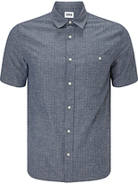 Edwin Labour Short Sleeve Shirt, Blue