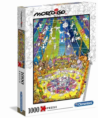 Clementoni Puzzle - Mordillo - The Show - 1000pcs