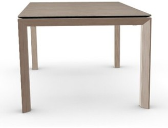 Calligaris Dining Table Base Color: Nougat, Top Color: Natural