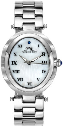 Porsamo Bleu Women's South Sea Oval Watch