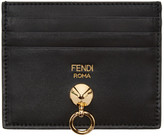 Fendi Black Hardware Card Holder