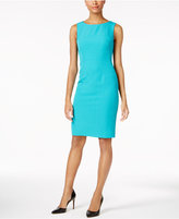Kasper Missy & Petite Sheath Dress