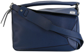 Loewe Medium Puzzle Bag - Marine Blue