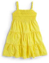 Ralph Lauren Toddler's & Little Girl's Tiered Silk-Blend Dress