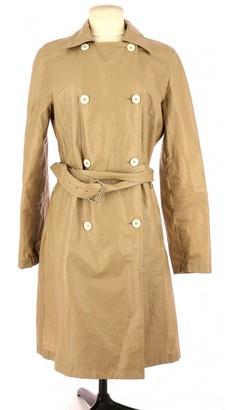Celine Beige Linen Trench Coat for Women