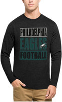'47 Men's Philadelphia Eagles Compton Club Long-Sleeve T-Shirt