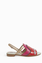 Paula Cademartori Sling Back Flat Sandals
