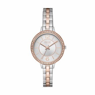 Elle Opera Three-Hand Two-Tone Stainless Steel Watch