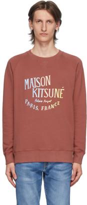 MAISON KITSUNÉ Pink Palais Royal Sweatshirt