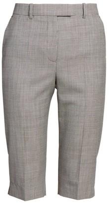 Givenchy Houndstooth Wool Bermuda Shorts