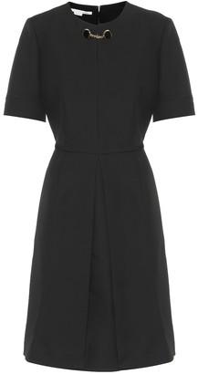 Stella McCartney Wool-blend dress