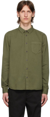 Nudie Jeans Green Henry Shirt