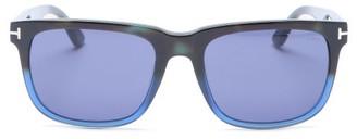 Tom Ford Stephenson Gradated Square Acetate Sunglasses - Blue
