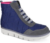 Mia Terran High-Top Lace-Up Sneakers