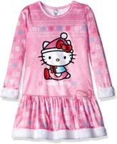 "Hello Kitty Little Girls' ""Sleep Queen"" Nightgown"