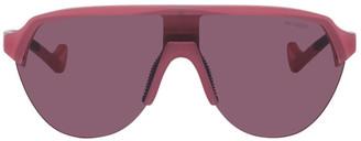 District Vision Pink Mr. Andre Edition Nagata Sunglasses