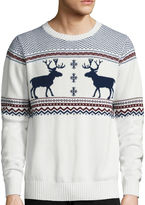 ST. JOHN'S BAY St. John's Bay Long-Sleeve Holiday Sweater