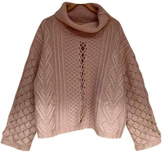 Circus Hotel Pink Wool Knitwear